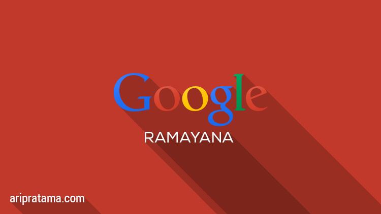 Google Ramayana, cerita interaktif