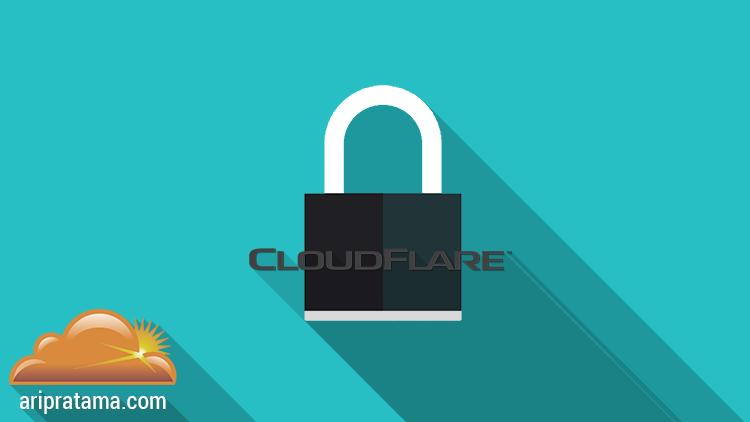 CDN Gratis dan SSL Gratis dari CloudFlare