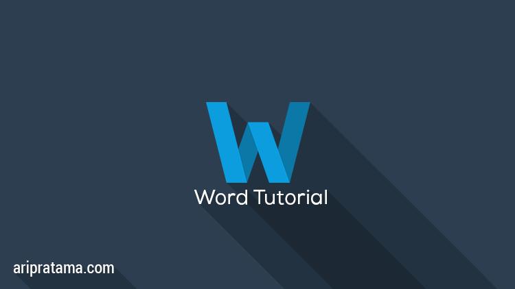 office word tutorial  Cara Membuat Halaman Romawi dan Angka office word tutorial