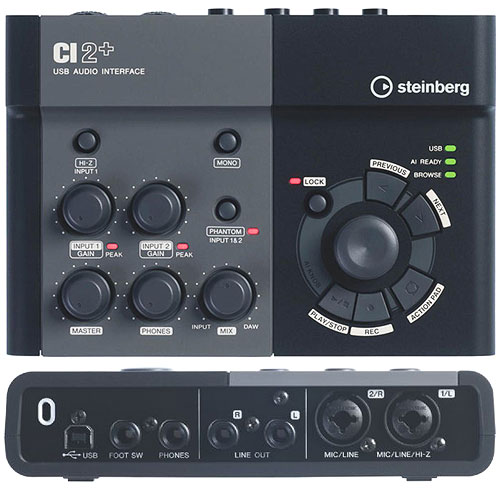 Review Audio Interface Steinberg CI2+
